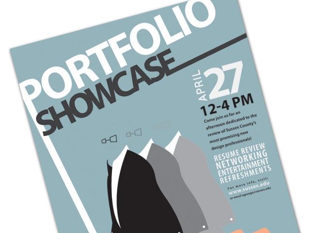 Portfolio Showcase Poster