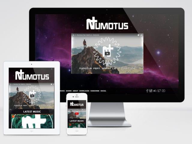 Numotus (Website Design)