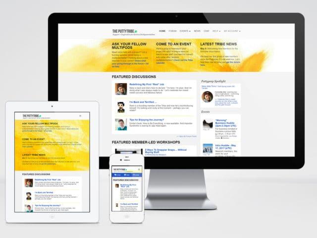 The Puttytribe (Website Design & Development)