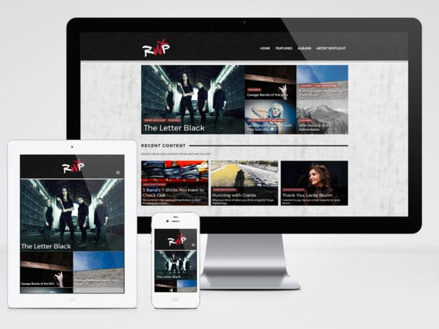 Rockin' With Purpose (Website & Logo Design)